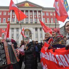 Maskva vengia minėti 1917-ųjų bolševikų revoliucijos metines