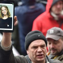 Ukrainos visuomenė pasipiktino dėl žmogaus teisių aktyvistės I. Nozdrovskos nužudymo