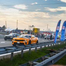 """""""Aurum 1006 km lenktynių"""" pirmąją dieną užbaigė traukos varžybos"""