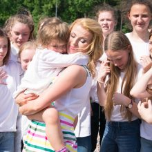 R. Mikelkevičiūtė: kiekvienas Lietuvos vaikas gali labai daug