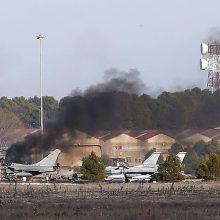 Ispanijoje naikintuvo katastrofos aukų skaičius padidėjo iki 11