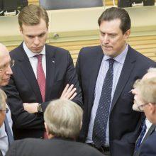 Seimo konservatorių frakcijoje galimi pokyčiai