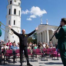 Katedros aikštėje – Dainų šventės naujienos