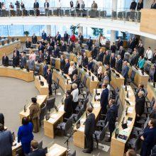 Vyriausybės vadovas palaiko Seimo narių mažinimo idėją