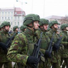 Seimui teikiamos pataisos dėl kariuomenės veterano statuso