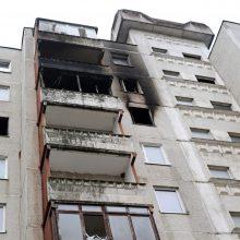 Tragiškas gaisras Šilainiuose: verdiktą išgirdo paskutinis budelis