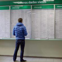 Ekonomistai įvertino sprendimą dėl 200 eurų išmokos darbo ieškantiems žmonėms