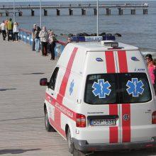 Palangoje išgelbėtos jūroje skendusios moteris ir mergaitė