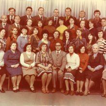 """Dienraščio kūrybinė grupė, kai """"Tarybinei Klaipėdai"""" vadovavo S.Žilinskas."""
