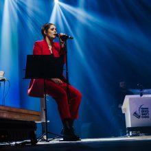 """Monika Marija """"Eurovizijos"""" finale pateiks staigmenų"""