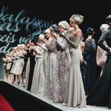 """L. Salasevičius pristatė vakarinių suknelių kolekciją """"Miesto raganos"""""""
