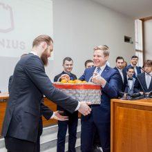 """""""Lietuvos rytui"""" – Vilniaus miesto tarybos padėka"""