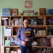 Lietuvis profesorius Sakartvelo studentus išmokė ir krepšinio himną