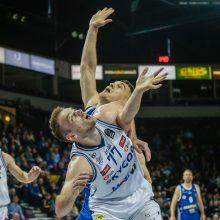 """""""Neptūno"""" krepšininkai laimėjo pirmąsias LKL ketvirtfinalio rungtynes"""