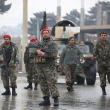 Per IS ataką prieš Afganistano karo akademiją žuvo mažiausiai 11 karių