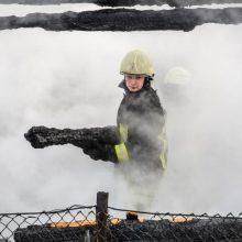 Vilkaviškio rajone kilo gaisras