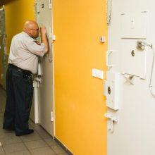 Klaipėdos policijos areštinės kameroje susižalojo paauglys
