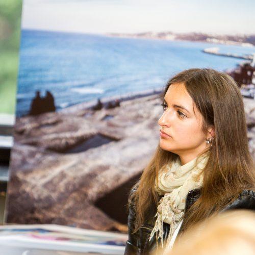 Fotografijų parodos apie Maroką atidarymas