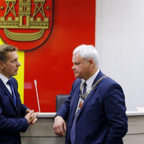 Naujoji Klaipėdos miesto taryba 2019.04.18