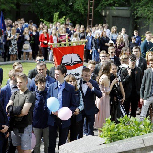Uostamiesčio mokyklose – paskutinis skambutis  © Vytauto Petriko nuotr.