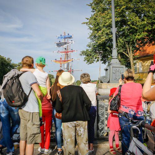 Baltijos kelio minėjimas Klaipėdoje  © Vytauto Petriko nuotr.