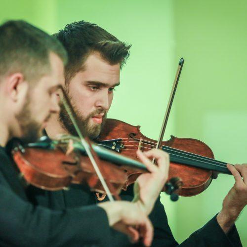 """Koncertas """"Mettis ir kompanija""""  © Vytauto Petriko nuotr."""