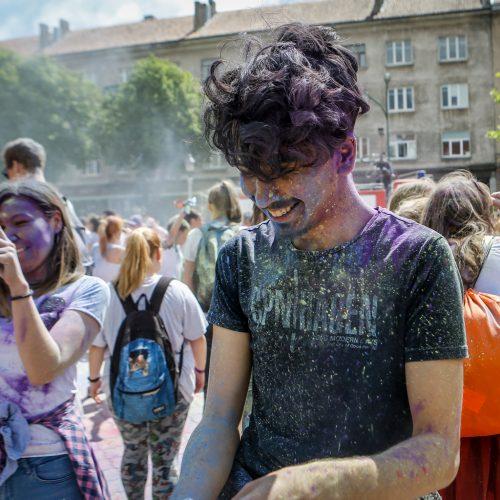 """Renginys """"Nuspalvink Klaipėdą""""  © Vytauto Petriko nuotr."""