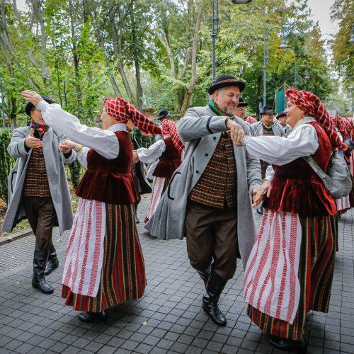 Palanga pražydo ir suskambo tarptautiniu folkloro festivaliu  © Vytauto Petriko nuotr.