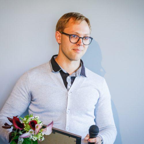 Paskelbtas Švyturio stipendijos nugalėtojas  © Vytauto Petriko nuotr.