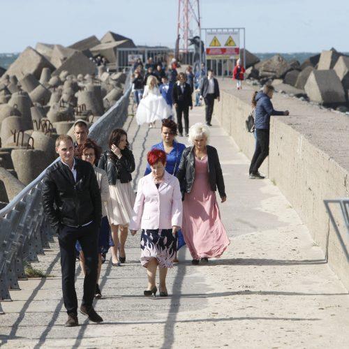 Klaipėdiečiai prie jūros