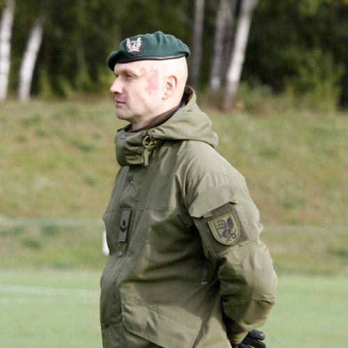 Klaipėdoje privalomosios pradinės karo tarnybos kariai prisiekė negailėti gyvybės  © Vytauto Liaudanskio nuotr.