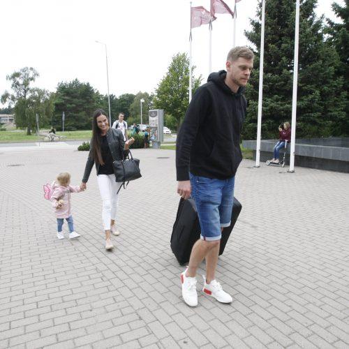 Lietuvos vyrų krepšinio rinktinė Palangoje  © Vytauto Liaudanskio nuotr.