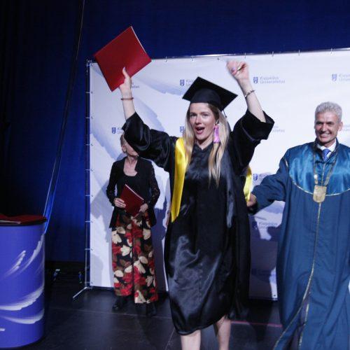 Diplomų įteikimas Klaipėdoje