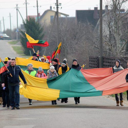 """Sodų bendrija """"Dituva"""" šventė vasario 16-ąją"""