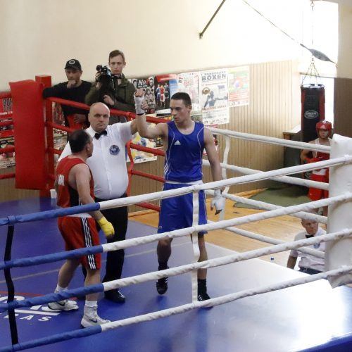 Viliaus Buikos tarpautinio bokso turnyro finalai  © Laimučio Brundzos nuotr.