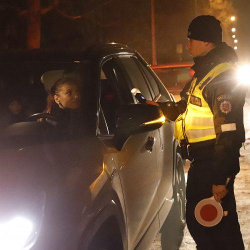 Kauno policijos vykdytas reidas   © Laimučio Brundzos nuotr.