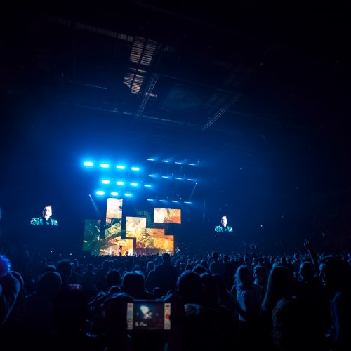 """S. Prūsaičio koncertas """"Žalgirio"""" arenoje  © Eitvydo Kinaičio nuotr."""