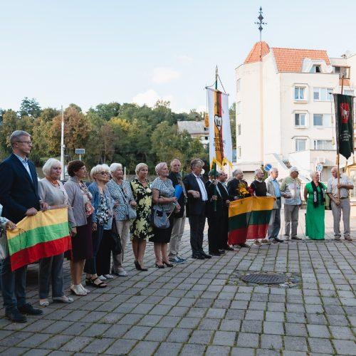 Baltijos kelio minėjimas Kauno prezidentūroje  © Eitvydo Kinaičio nuotr.