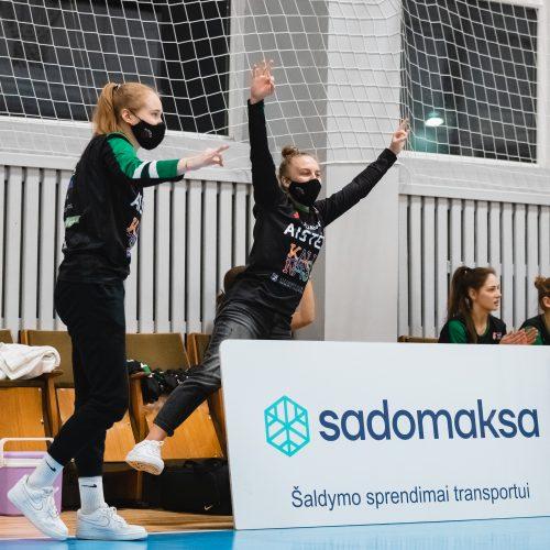 """Moterų lyga: Kauno """"Aistės-LSMU"""" – Vilniaus """"Kibirkštis-VKM"""" 75:37  © Eitvydo Kinaičio nuotr."""