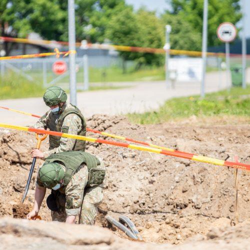 Aleksote rastos dvi aviacinės bombos