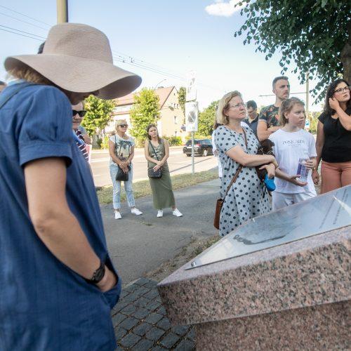 Kauno geto 80-mečiui – nauja ekskursija  © Justinos Lasauskaitės nuotr.
