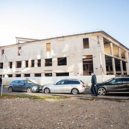 Nebaigtas statyti turgus Šiaulių gatvėje