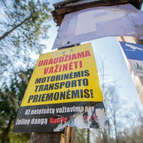Aplinkosaugininkų surengtas keturračių reidas  © Justinos Lasauskaitės nuotr.