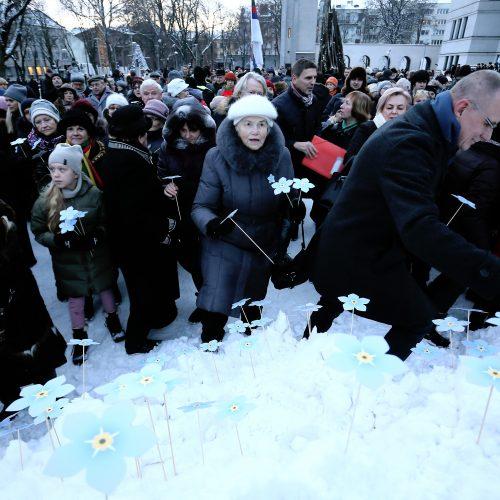 Laisvės gynėjų dienos renginiai Kaune  © Aliaus Koroliovo nuotr.