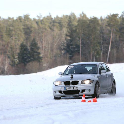 Žiemos vairavimo mokymai Nemuno žiede  © Aliaus Koroliovo nuotr.