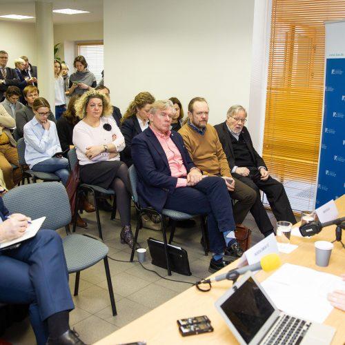 I. Šimonytė pristatė užsienio politikos viziją  © I. Gelūno / Fotobanko nuotr.