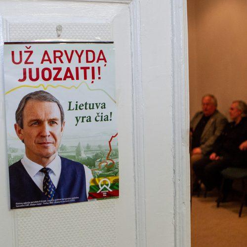 A. Juozaičio štabas laukia rezultatų  © P. Peleckio / Fotobanko nuotr.