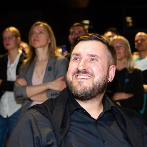Geros emocijos I. Šimonytės štabe  © B. Barausko, I. Gelūno / Fotobanko nuotr.