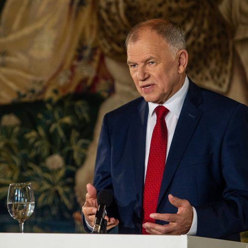 Kandidatų į prezidentus spaudos konferencijos  © P. Peleckio / Fotobanko nuotr.