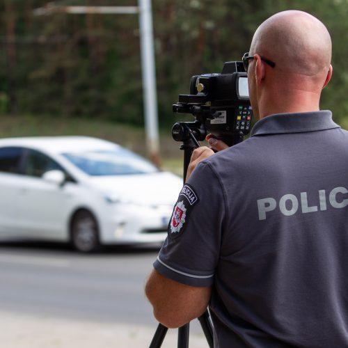 """Policijos akcija """"Švarus vairuotojas""""  © P. Peleckio / Fotobanko nuotr."""